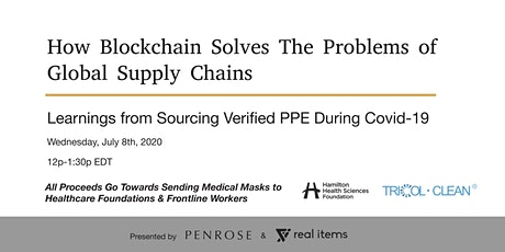 Digital Workshop: How Blockchain Solves The Problems of Global Supply Chain tickets