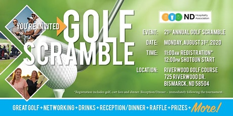 NDHA 21st Annual Golf Scramble tickets