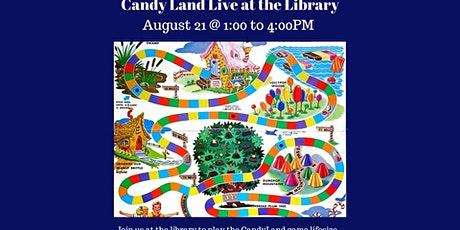 Candy Land Live at the Library tickets