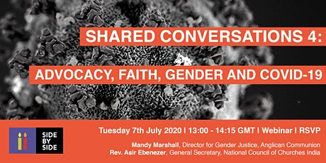 Shared Conversations 4:  Advocacy, Faith, Gender and COVID-19 tickets