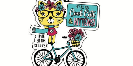 Cool Cats and Kittens 1M 5K 10K 13.1 26.2 tickets