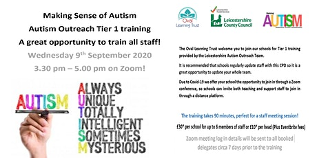 Making Sense of Autism - Autism Outreach Tier 1 training tickets