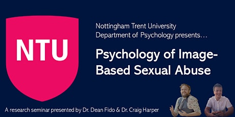 Psychology of Image-Based Sexual Abuse (Dr. Dean F tickets