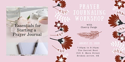 Prayer Journaling Workshop