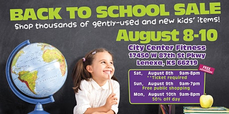 Here We Grow Again Back to School Sale tickets