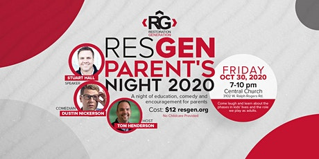 RESGEN Parent's Night 2020 tickets