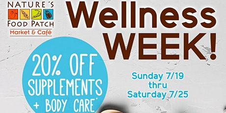 Wellness WEEK! tickets