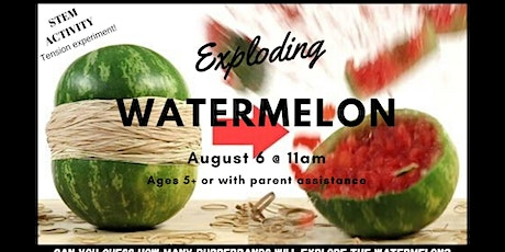 Exploding Watermelon tickets