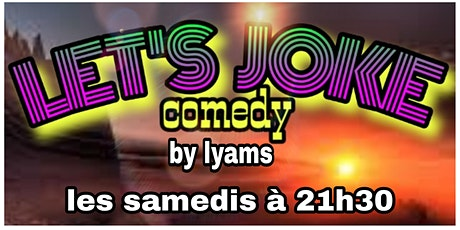 LET'S JOKES COMEDY billets