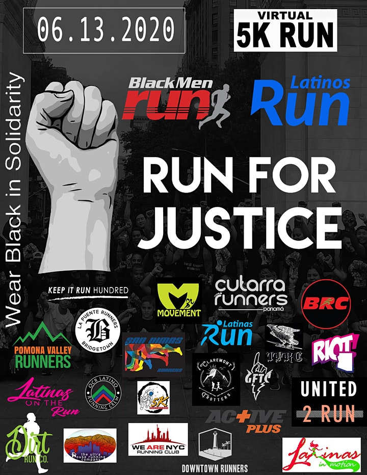 Run For Justice - Virtual Run image