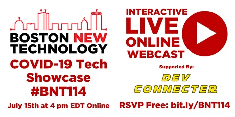 Boston New Technology COVID-19 Tech Showcase #BNT114 tickets