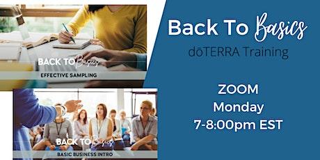 Back to Basics  dōTERRA business training: Part I, II, & III tickets