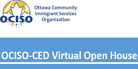 OCISO-CED Virtual Open House tickets