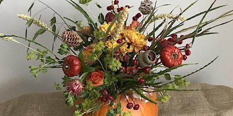 Pumpkin Flower Design tickets