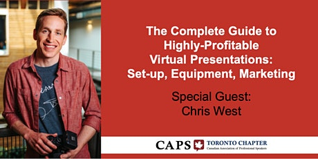 The Complete Guide to Virtual Presentations: Setup, Equipment & Marketing! tickets