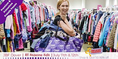 Pimetime Presale pass | July 11th | JBF Dover All Seasons Sale tickets