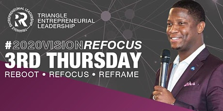 2020Vision ReFOCUS | 3rd Thursdays tickets