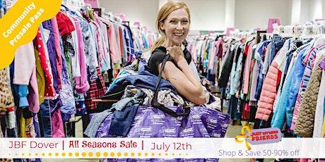 Community Presales | July 12th | JBF Dover All Seasons Sale tickets