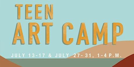 Teen Art Camp tickets