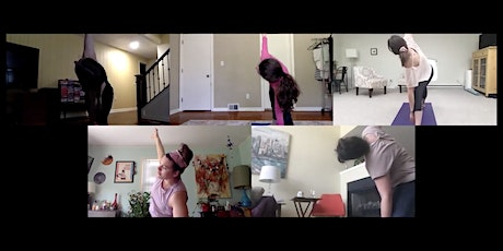 Virtual Yoga for Writers tickets