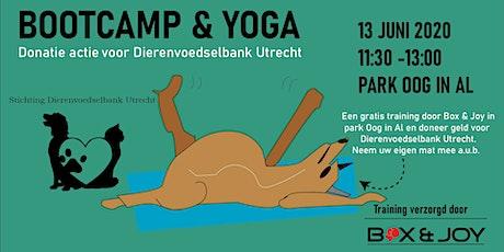 Yoga en Bootcamp voor Dierenvoedselbank Utrecht tickets