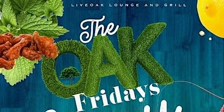 The Oak on Fridays tickets