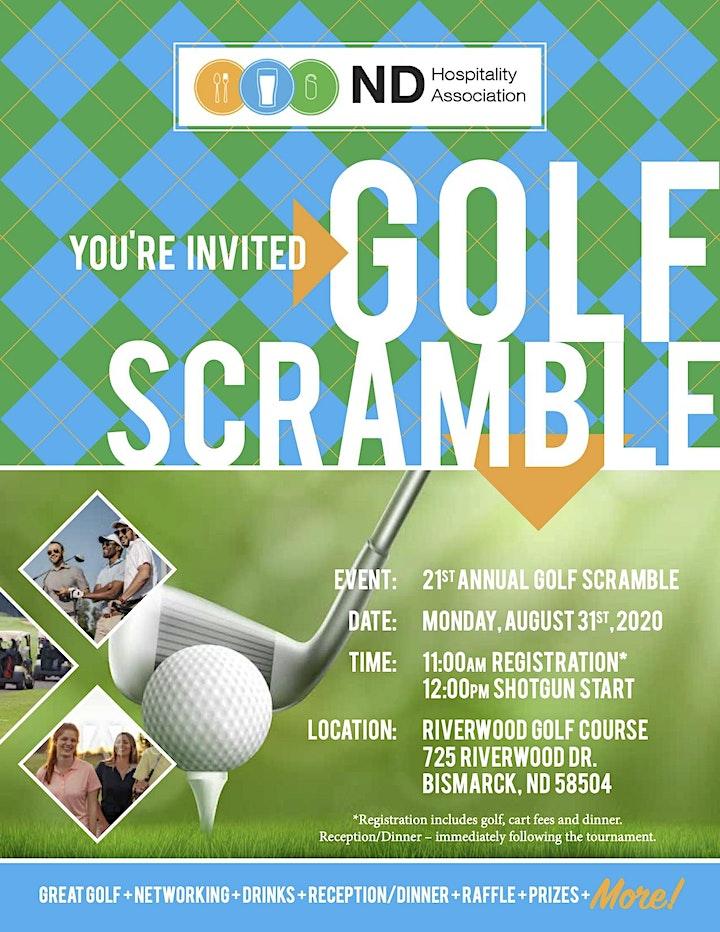 NDHA 21st Annual Golf Scramble image