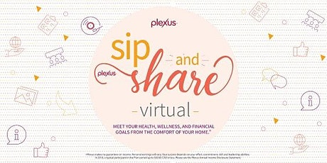 Virtual Sip and Share - Sr. Gold AMB Jacqueline Ledet, Pitt Meadows BC tickets