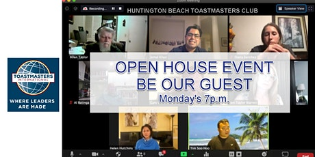 Huntington Beach Toastmasters Virtual Meetings tickets