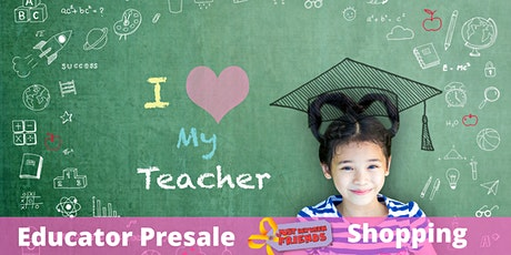 JBF Educator Presale Shopping tickets