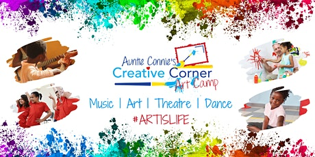 Creative Corner Virtual Art Camp : Session 7 - August 17 to August 21 tickets
