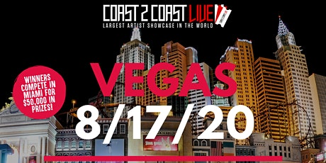 Coast 2 Coast LIVE Showcase Vegas - Artists Win $50K In Prizes tickets