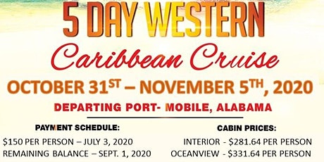 2020 Friends and Family Cruise tickets