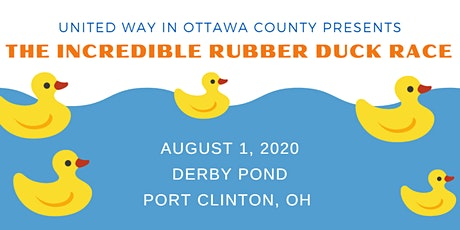 The Incredible Rubber Duck Race for United Way in Ottawa County tickets