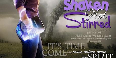 Shaken Not Stirred Free Women's Online Event tickets