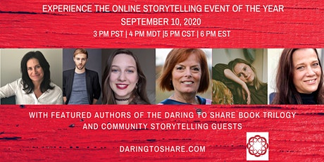 Daring to Share: Online Storytelling Event tickets