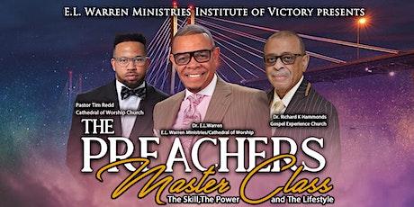 The Preachers Master Class tickets