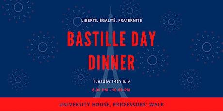 Bastille Day Dinner tickets
