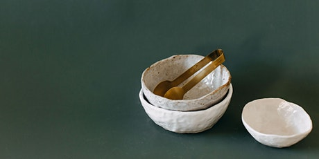 Not Yet Perfect- Hand Building Workshop: Bowl and Pinch pots tickets
