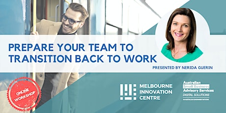 BRP: Prepare your team for the transition back to work tickets