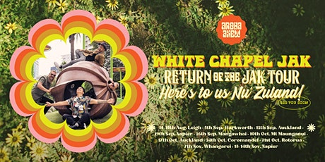 RESCHEDULED White Chapel Jak @ Rotorua - Blue Baths tickets