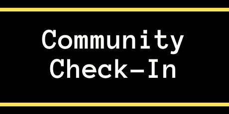 Community Check-In tickets