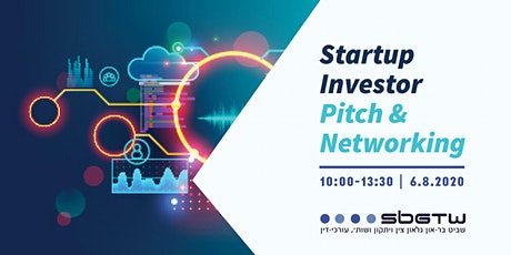 Startup Investor Pitch & Networking, No. II tickets