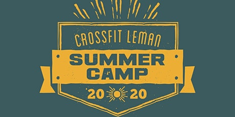 CrossFit Léman Athlete Summer Camp billets