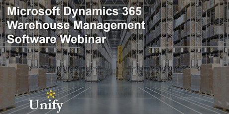 Microsoft Dynamics 365 Supply Chain Warehouse Management Software Webinar tickets