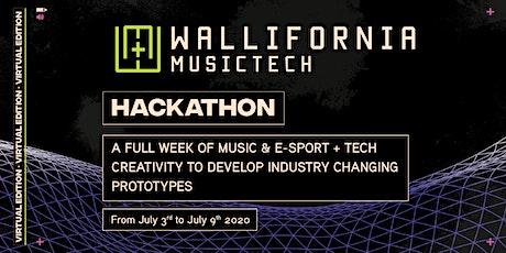 Wallifornia MusicTech & Esports Virtual Hackathon 2020 tickets