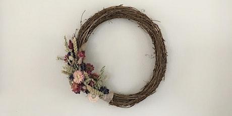 Autumn Dried Flower Wreath tickets