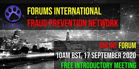 Forums International: Fraud Prevention Network tickets