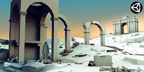 Introduzione a Unity nello sviluppo di videogiochi 3D (live, no webinar) biglietti