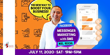 Facebook Messenger Marketing with SMS: The New Way To Boost Your Business tickets